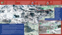 Snowbasin Nordic Trail Map