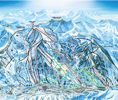 Snowbird Ski and Summer Resort Ski Trail Map