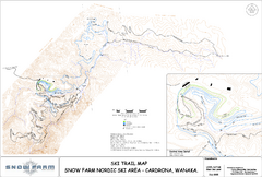 Snowfarm Nordic Ski Trail Map