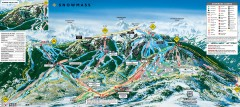 Snowmass Ski Trail Map