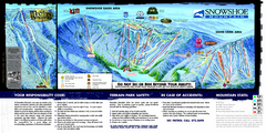 Snowshoe Mountain Ski Trail Map