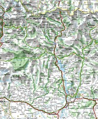 Sobrarbe Province Map