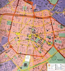 Sofia Center Map
