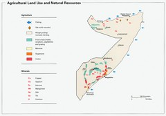 Somalia Land Use Map