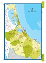Songkhla, Thailand Map