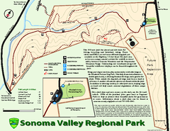 Sonoma Valley Regional Park Map