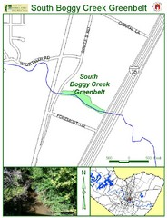 South Boggy Creek Map