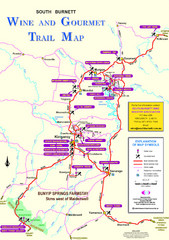 South Burnett Trail Map