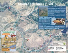 South Fork Boise River Map