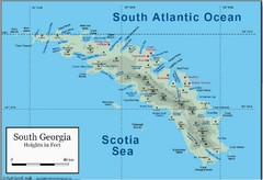 South Georgia and the South Sandwich Islands Map