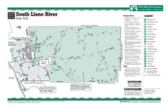 South Llano, Texas State Park Facility and Trail...