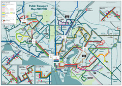 Southampton Public Transport Map
