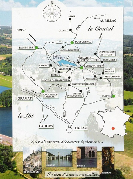 Southern france tourist map figeac france mappery fullsize southern france tourist map gumiabroncs Images