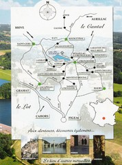 Southern France Tourist Map