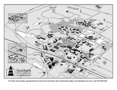 Southern Illinois University Carbondale Map