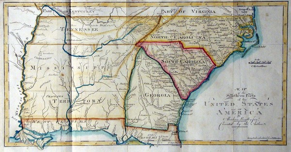 Maps Southern Us Map United States - Map of southern us