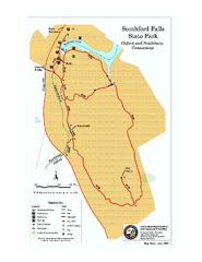 Southford Falls State Park map
