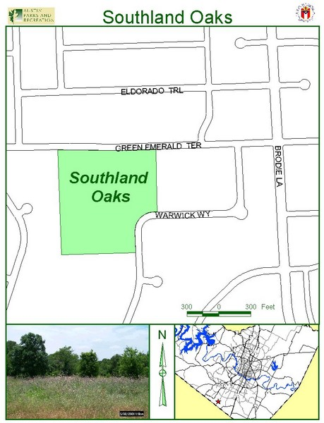 Southland Oaks Map