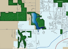Southwest Olathe Map