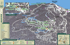 Sovereign Lake Nordic Ski Trail Map
