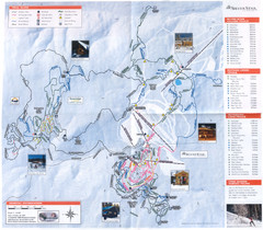 Sovereign Lake Ski Trail Map