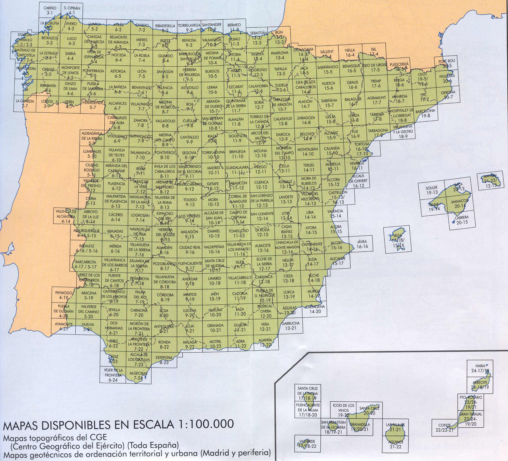Spains Population Topographical Map Spain Mappery - Map of spain
