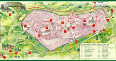Spello Tourist Map