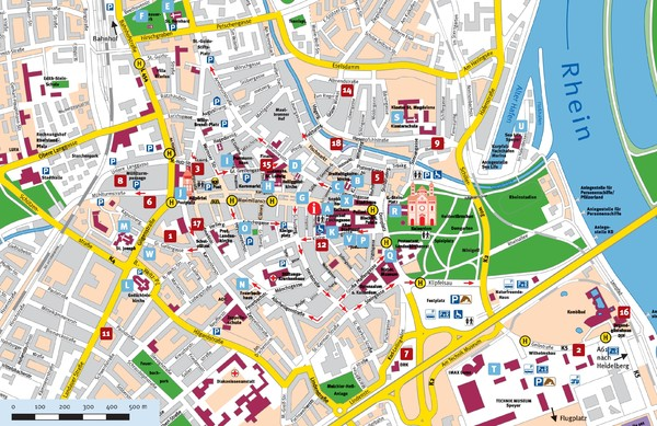 fullsize speyer tourist map