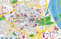 Speyer Tourist Map