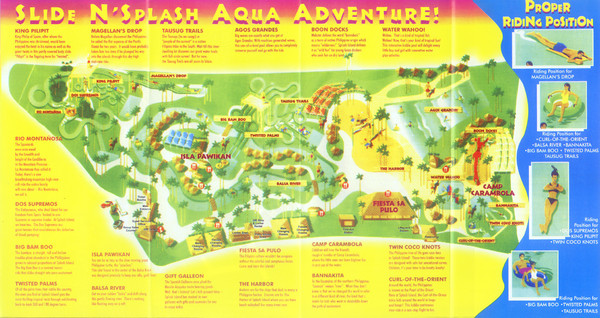 Splash Island Water Park Map