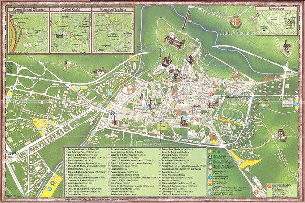 Spoleto Map spoleto it mappery