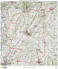 Spring Century Bike Route Map