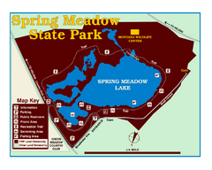 Spring Meadow Lake State Park Map