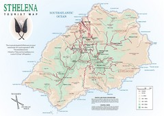 St. Helena Tourist Map