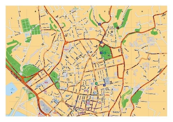 St helier street map st helier jersey mappery