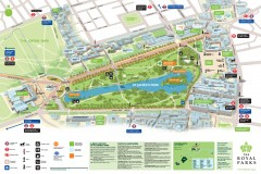 St. James Park Map