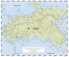 St. John Trail Map