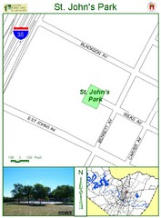 St. Johns Park Map