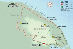 St. Joris Baai / Koraal Tabak Mountain Biking map