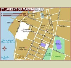 St. Laurent du Maroni Map
