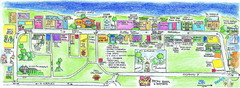 St. Lawrence Tourist Map