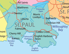 St. Paul province Map