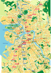 St. Petersburg City Map