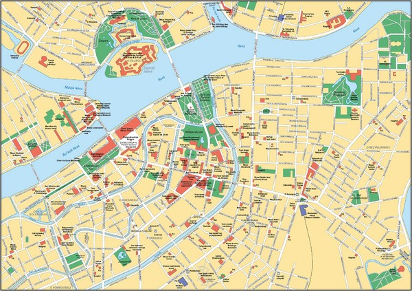 Saint Petersburg Map Metro – Tourist Attractions Map In Russia
