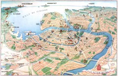 St. Petersburg Tourist map