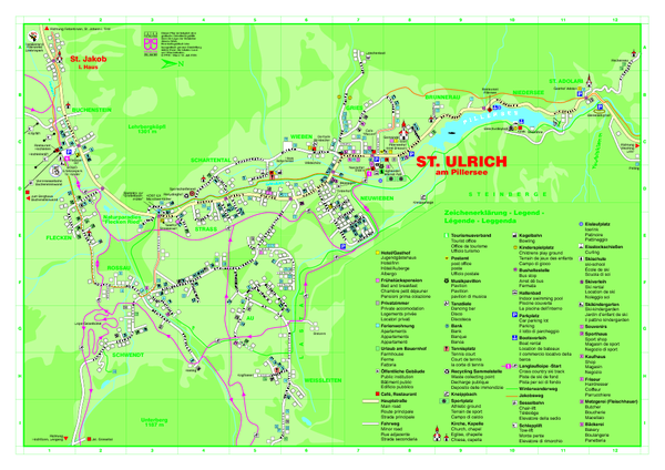 St. Ulrich am Pillersee Map