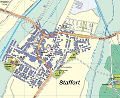 Staffort Map