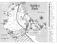 Stanley Park Trail Map