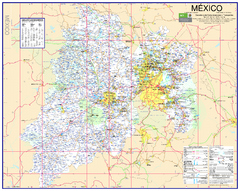 State of Mexico Road Map