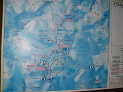 Station du Haut-Folin ? Nordic Ski Trail Map